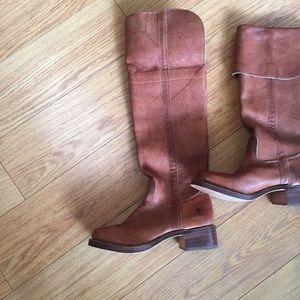 Frye campus OTK boots 9.5